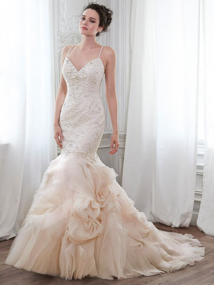 Fancy Maggie Sottero Yasmina Size New Un Altered Wedding