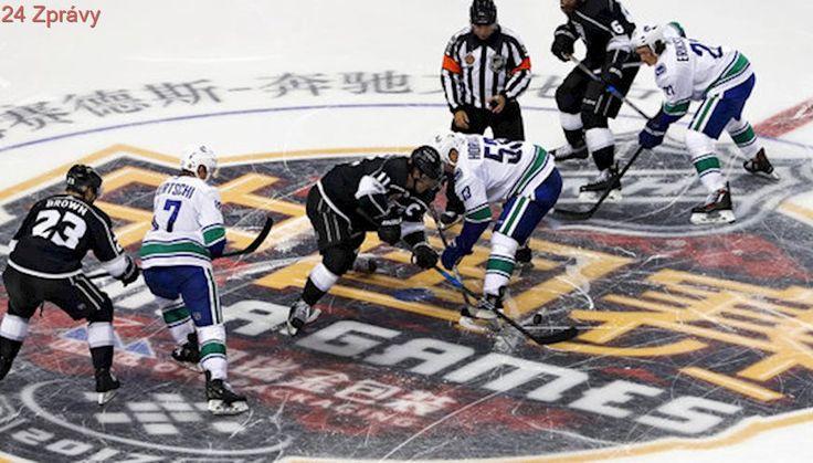 Los Angeles zdolalo v přípravě při debutu NHL v Číně Vancouver