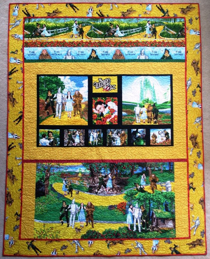 53 best Wizard of Oz images on Pinterest | Dr oz, Quilts and At sign : wizard of oz quilt kit - Adamdwight.com