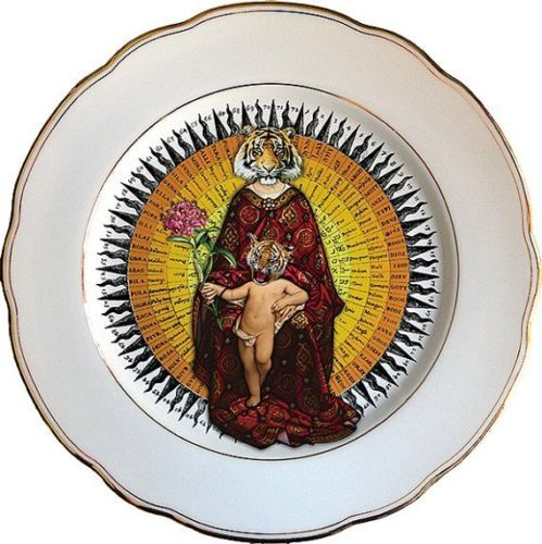 Collectors Porcelain Plates by pushkinil @eBay