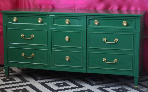 Drexel Traditional Dresser Freshly Lacquered Ready to