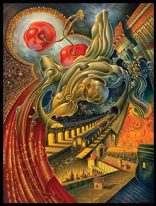 Cherry Dream by Alex Fishgoyt
