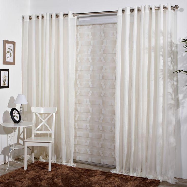Cortina moderna chloe es una cortina confeccionada for Cortinas visillo modernas