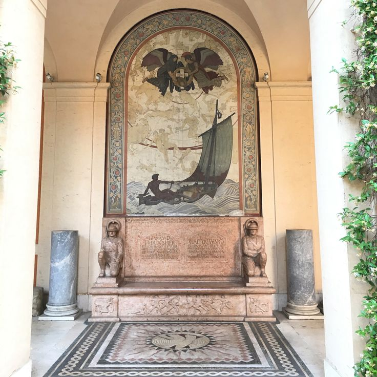 Vu lors de la journée portes ouvertes de l'American Academy de Rome - Juin 2016 ©ROME Pratique