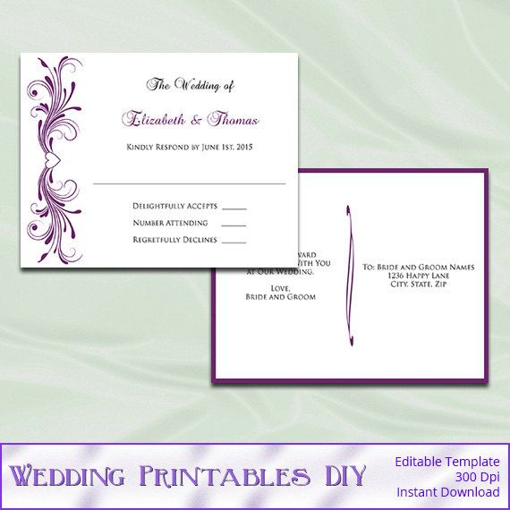790 best Wedding Templates images on Pinterest Wedding templates - postcard template word