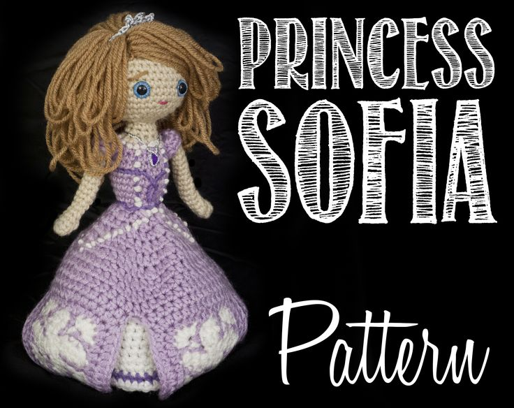 Princess Sofia the First pattern is up - this was a really fun one to make! Amigurumi, Amulet, Best, Crochet, Crown, Cute, Disney, Doll, Dress, Embroidery, First, French Knot, French Knots, Friendly, Hair, Intermediate, Junior, Necklace, Pattern, Patterns, Pendant, Photos, Princess, Purple, Sofia, Sofia the First, Sophia, Sophia the First, Stuffed, Sweet