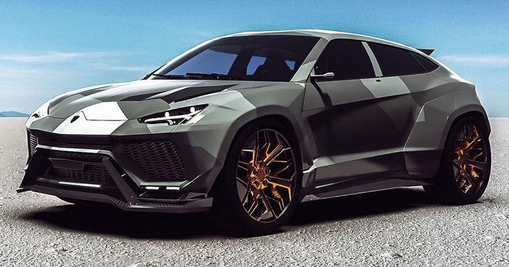 Lamborghini Urus Isn't Even Out Yet And Tuners Are Already Imagining Wide-Body Kits #Lamborghini #Lamborghini_Urus