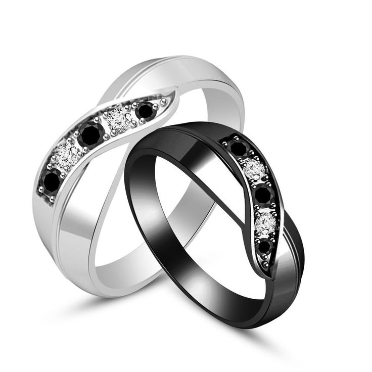 14 Best Images About Couple Ring Set On Pinterest
