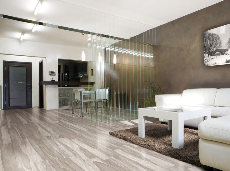 Rustic Wood Inspired Porcelain Floor