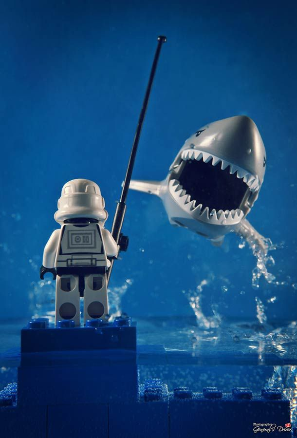 Le photographe coréen Storm TK431 s'est amusé à mettre en scène les figurines de LEGO Star Wars dans des situations assez inhabituelles...