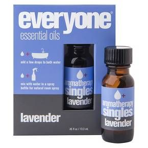 Everyone™ Lavender Single Note Essential Oil is a part of the Everyone Aromatherapy collection. Lavender is a soothing, calming single note. Lavender's timeless scent reminds us to be present and calm. Everyone essential oils are 100% pure and unadulterated, so always dilute before using. You can use these oils in a room diffuser, add them to an unscented lotion or oil, drop them in your bath, or mix them with water in a spray bottle for a room spray. Everyone essential oil...