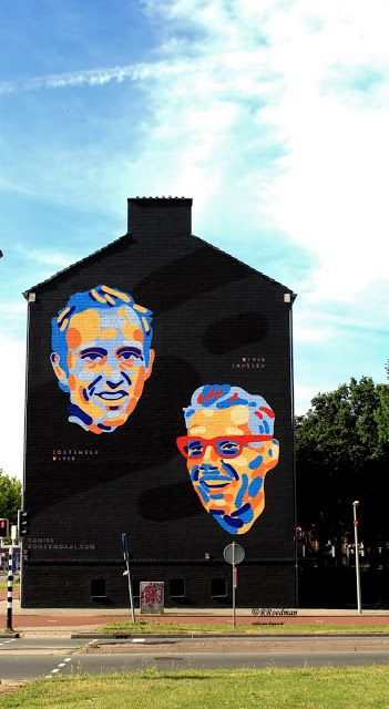 Wall paints, Muurschilderingen, Peintures Murales,Trompe-l'oeil, Graffiti, Murals, Street art.: Utrecht - Netherlands