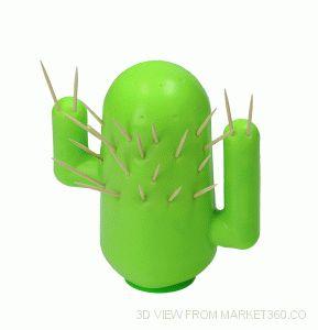 Cactus Toothpick Holder