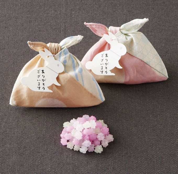 日式糖果 布包裝