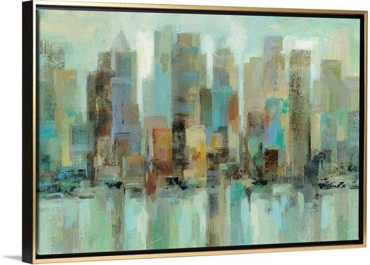Morning reflections framed wall artframed