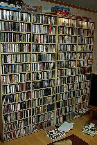 99 best images about cd dvd storage ideas on pinterest organize dvds shelves and cd racks. Black Bedroom Furniture Sets. Home Design Ideas