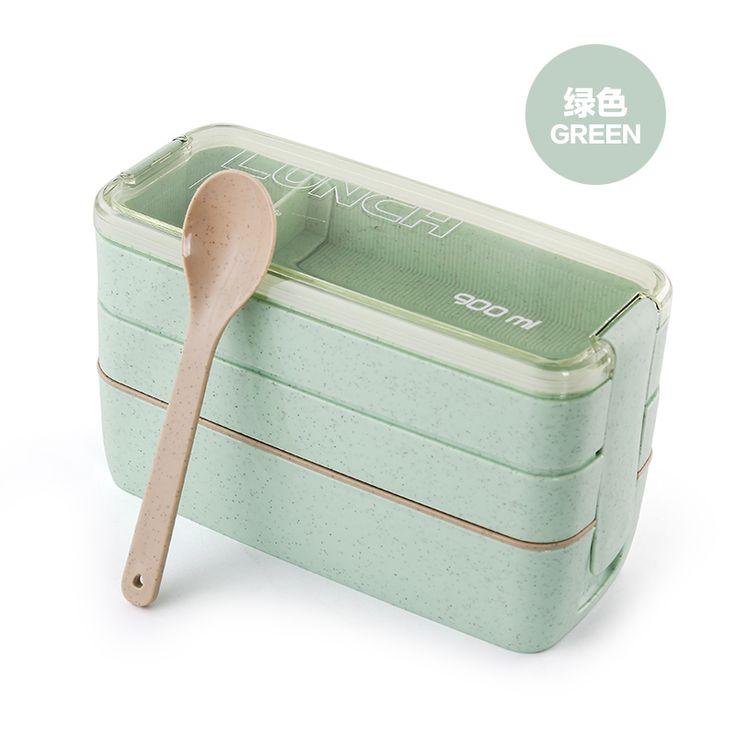 Mai элемент 3 прекрасный ланч-боксов коробка для завтрака микроволновое студентов многослойная японских детей Японский суб-сетка маленькая еда -tmall.com Lynx
