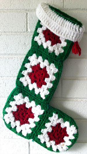 hoping to make all our Christmas stockings using this or a slightly different pattern!