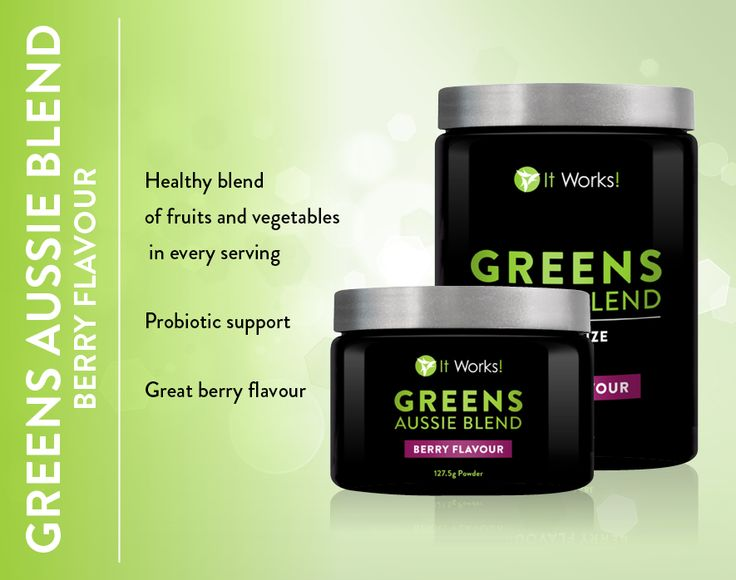 Greens Aussie Blend Berry Flavour- Healthy blend of fruit and Vegetables in every serve