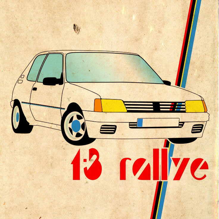 Peugeot 205 Rallye Print