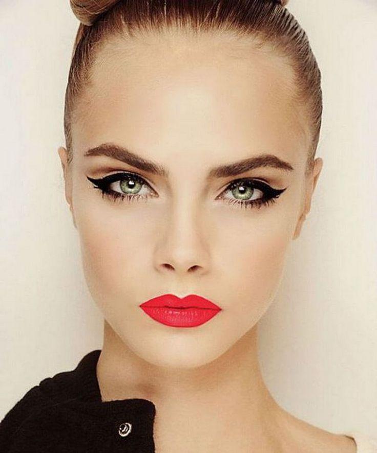 Hey Cute - Por Karla Lopes.: 5 coisas: maquiagens com delineador para o seu sábado