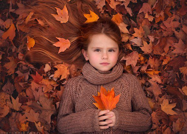 Autumn Song - Children Photography by Lisa Holloway