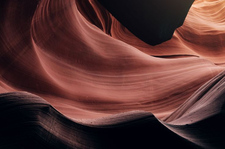 [#HD Wallpaper] Layers of orange textured sandstone form patterns in Antelope Canyon - #AntelopeCanyon #Plano #Sandstone #Antelope Canyon, Quantum mechanics, Orange, Photograph  - Photo by Irene Irene @nameisirene (unsplash)  - Follow #extremegentleman for more pics like this!
