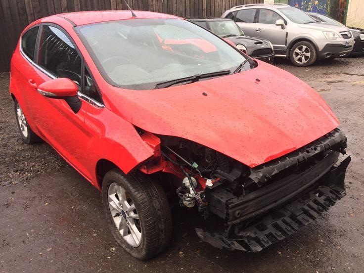 eBay: 2014 FORD FIESTA 1.25 82 ZETEC 3DR LIGHT ACCIDENT DAMAGE / SPARES / REPAIR #carparts #carrepair