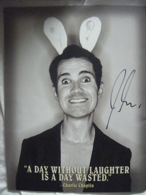 I love Jimmy Carr, seen him a couple of times & he is very funny