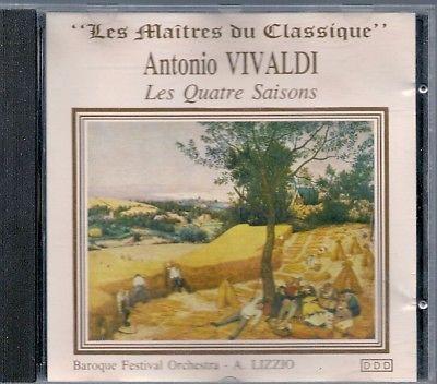 Cd Classique--Antonio Vivaldi--Les Quatres Saisons