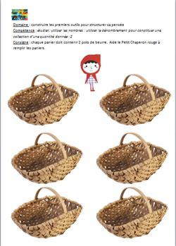 EXERCICES: Le Petit Chaperon rouge (PS-MS)