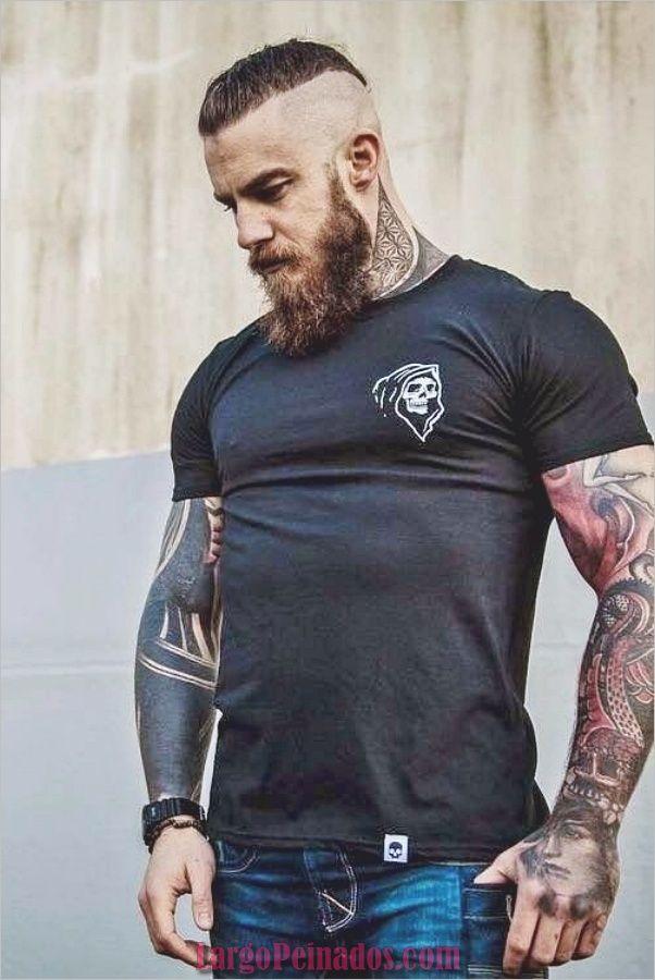 40 Tendencias Peinados Para Hombres Con Barbas Barba Hombre Estilos De Cabello Hombre Estilos De Barba