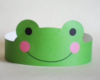Bunny Paper Crown Printable by PutACrownOnIt on Etsy