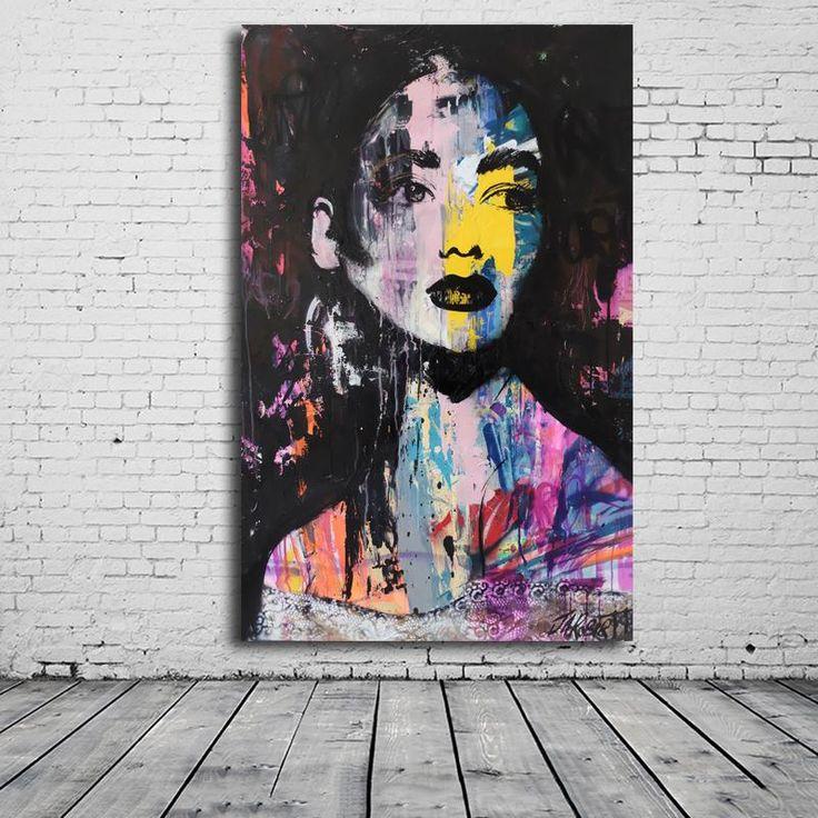Portrait Graffiti Artwork