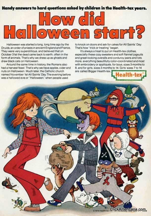 healthtex kids ads | oct-1979-how-halloween-start-healthtex