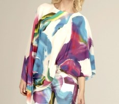 Talulah we danced oversized silk top $239 | threads and style