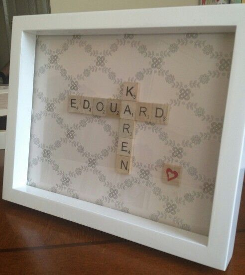 Birthday Gift - Scrabble