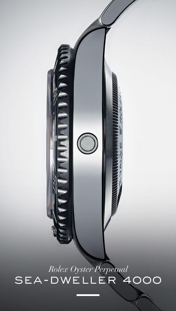 Rolex Sea-Dweller 4000. #RolexOfficial