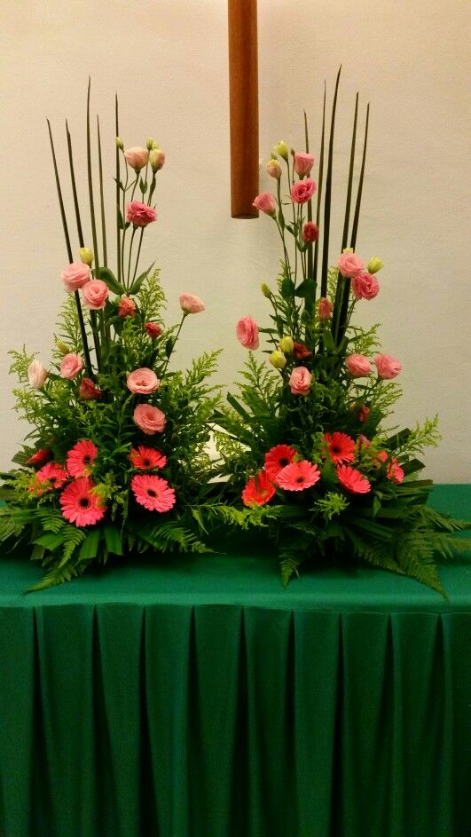 Best church flowers images on pinterest floral