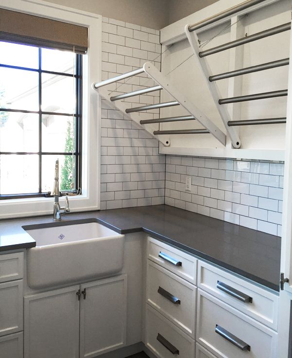 Delicieux Laundry Drying Racks Street Of Dreams Tour By The Inspired Room/cabinet  Hardware.