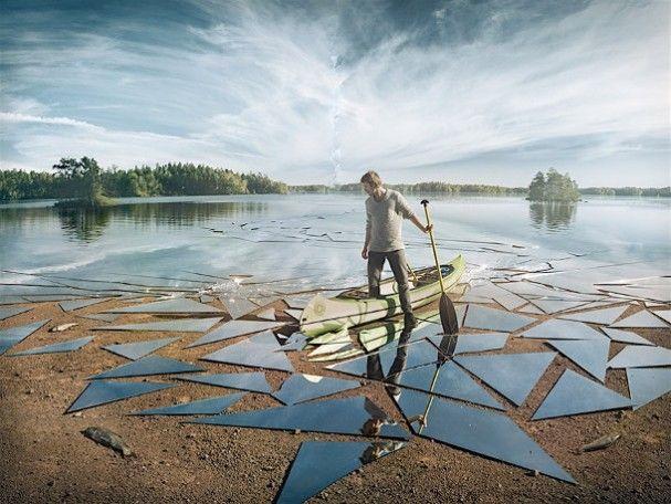 Afbeeldingsresultaat voor gebroken spiegels