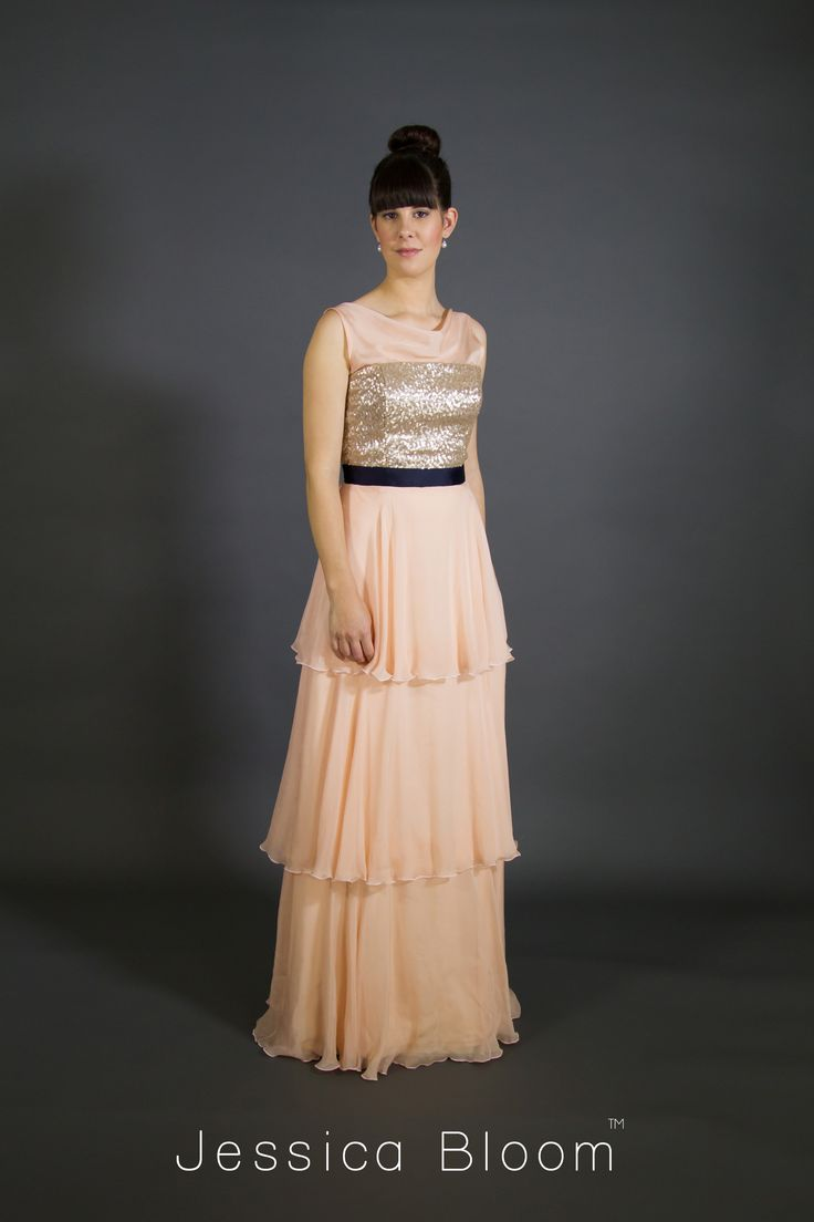 Jessica Bloom gown Grace
