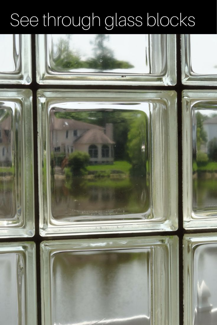 Clear Glass Windows : Best images about glass block windows on pinterest