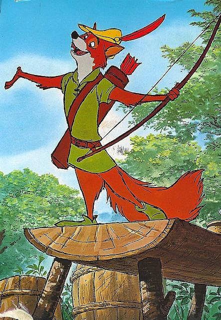 Disney - Robin Hood - one of my favorite foxes, how could I forget!