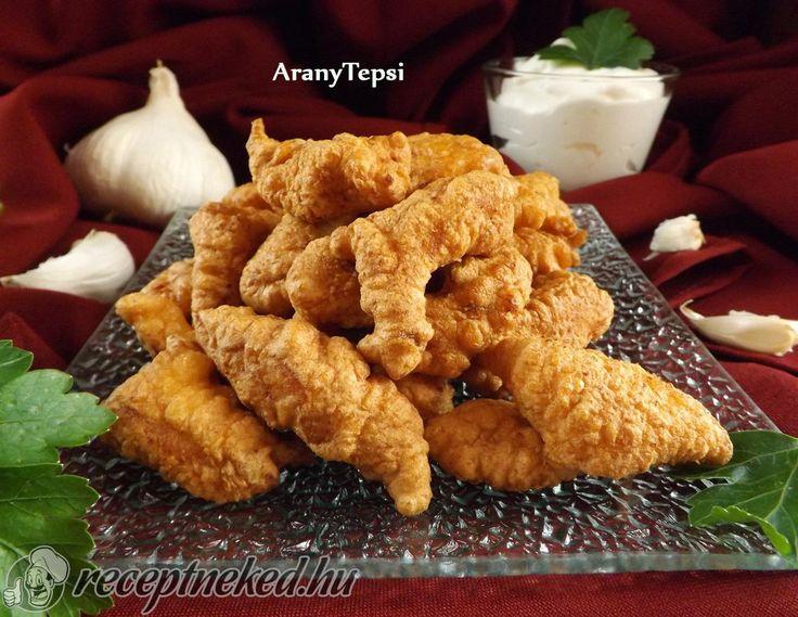 Kipróbált Fokhagymás bundában sült csirkefalatok recept egyenesen a Receptneked.hu gyűjteményéből. Küldte: aranytepsi