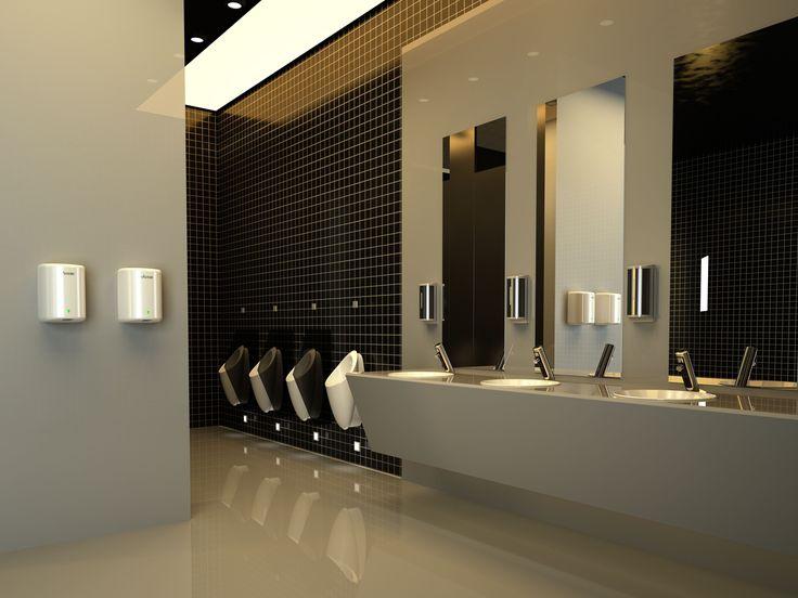 #hand dryer #soap dispenser #faucet #commercial bathroom design