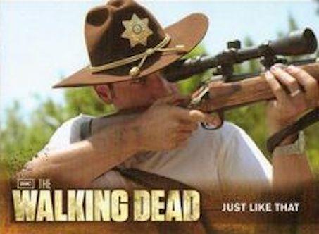 The Walking Dead Season 2 (2012) Cryptozoic Card # 09 Just Like That