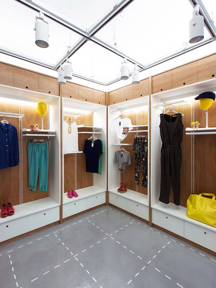 Womanu0027s Wardrobe Daily Store By Khanproject, Seoul Store Design