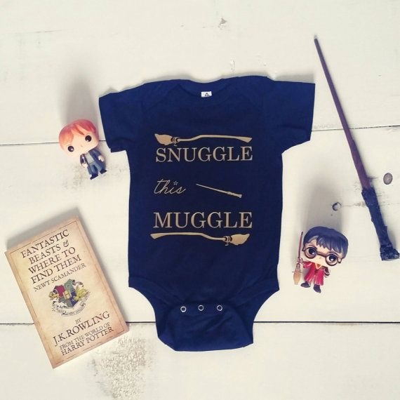 Love this Harry Potter Onesie!! Super cute!! Snuggle the Muggle!!