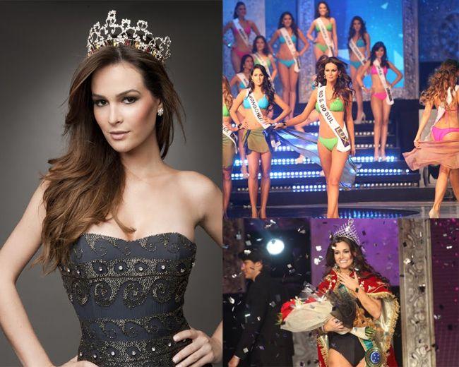 Miss Brazil 2012 wearing Lez a Lez